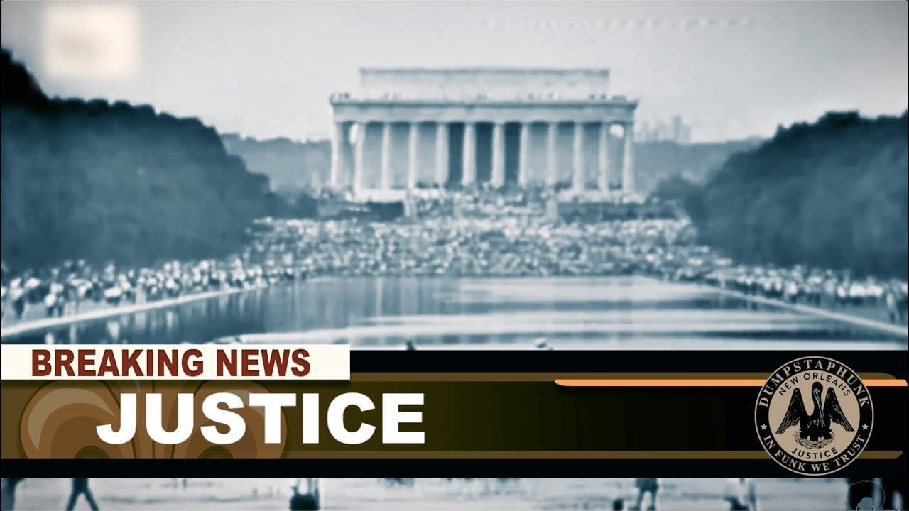 """Dumpstaphunk - """"Justice 2020"""" ft. Chali 2na & Trombone Shorty (Official Music Video) - YouTube Thumb"""